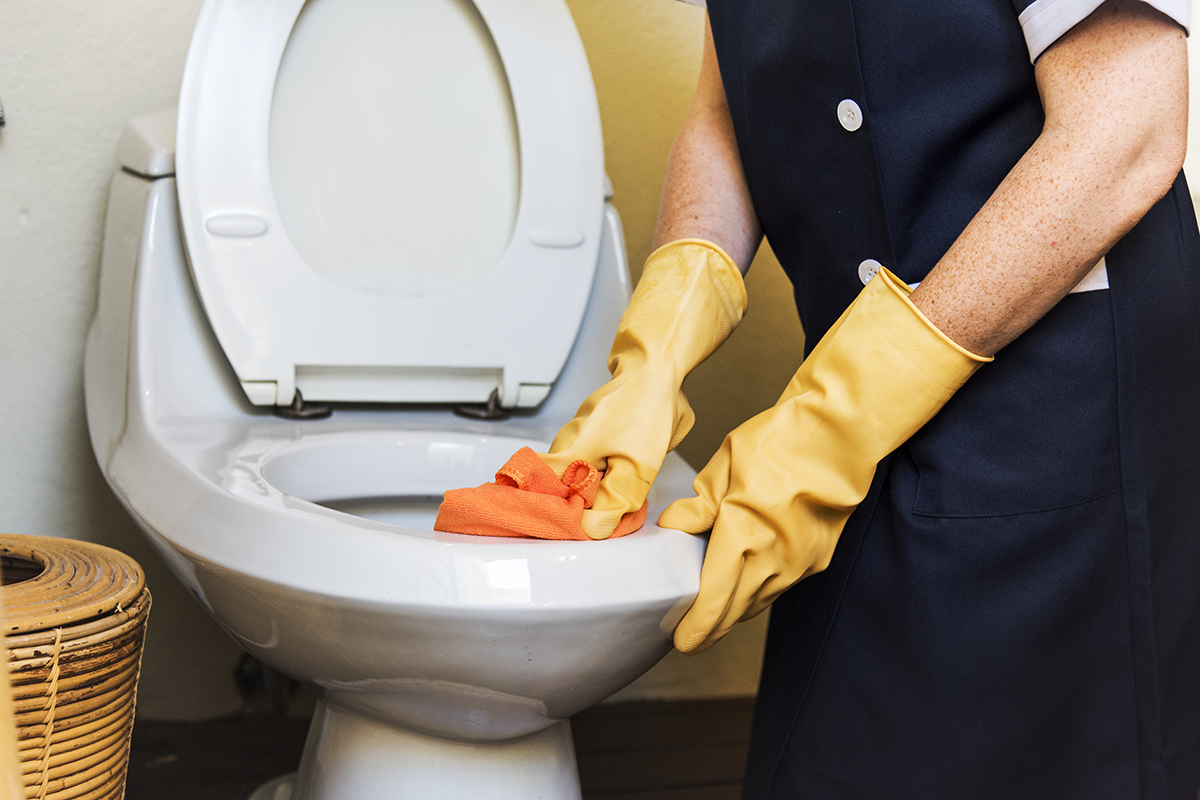 Restroom Office Cleaning Tips